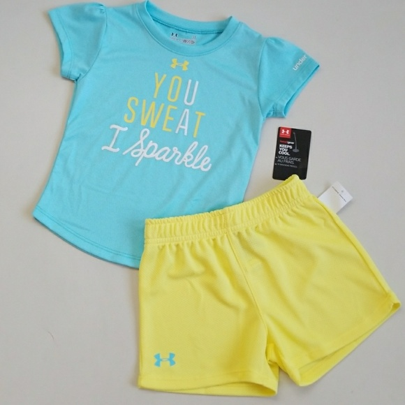 5aefe63af9 NWT Toddler Under Armour Outfit (Sz 3T, 4T) NWT